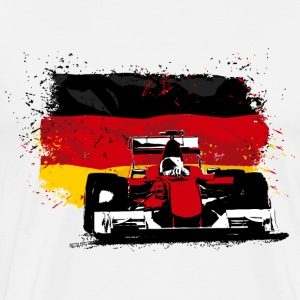 Formula One -  German Flag T-Shirts - Männer Premium T-Shirt