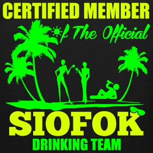 Certified member of the SIOFOK drinking team Sportbekleidung - Männer Premium Tank Top