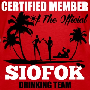 Certified member of the SIOFOK drinking team Tops - Women's Premium Tank Top