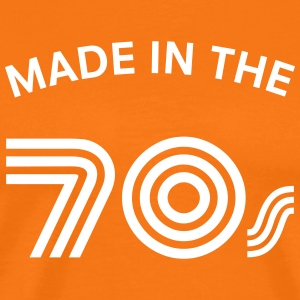 Made In The 70\'s T-shirts - Mannen Premium T-shirt