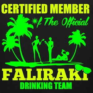 Certified member of the FALIRAKI drinking team Sportkleding - Mannen Premium tank top