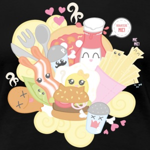 Kawaii Food - Frauen Premium T-Shirt