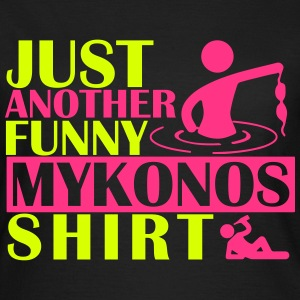 JUST ANOTHER FUNNY MYKONOS SHIRT Camisetas - Camiseta mujer