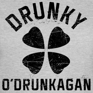 Drunky O'Drunkagan Vintage Back T-Shirts - Frauen T-Shirt