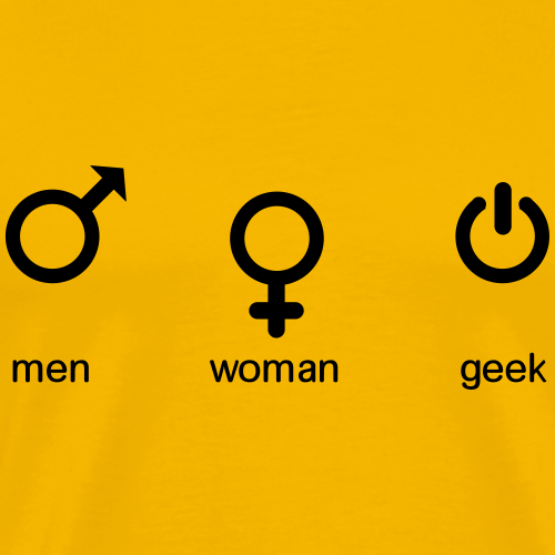 men woman geek