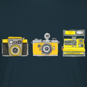Ilex 3 Yellow Cameras - Men's T-Shirt