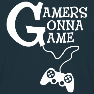 Gamers Gonna Game T-shirts - Herre-T-shirt