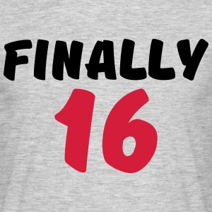 Finally 16 Tee shirts - T-shirt Homme