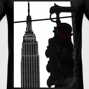 Empire State T-Shirts - Männer Slim Fit T-Shirt