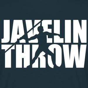 Javelin throw T-Shirts - Männer T-Shirt