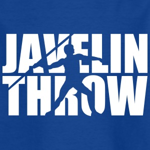 Javelin throw T-Shirts - Kinder T-Shirt