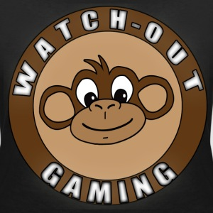 watch-out gaming Tee shirts - T-shirt col V Femme
