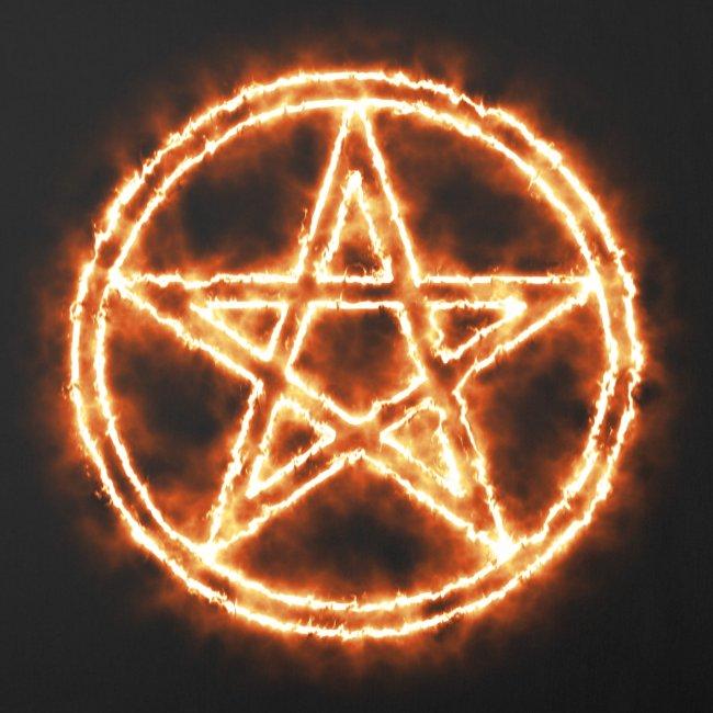 Sofakissenbezug Pentagramm