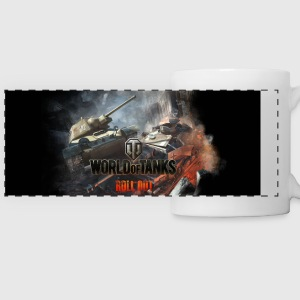 World of Tanks Battlefield Color Mug - Panoramic Mug
