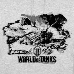 World of Tanks Battlefield Mono Men Hoodie - Luvtröja unisex
