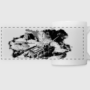 World of Tanks Battlefield Mono Mug - Panoramic Mug