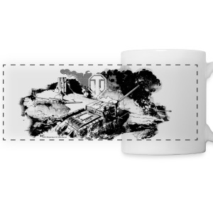 World of Tanks Battlefield Mono Mug - Tazza con vista