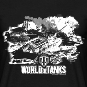 World of Tanks Champ de bataille Homme tee shirt - T-shirt Homme
