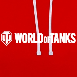 World of Tanks Men Hoodie - Kontrastluvtröja