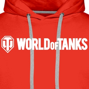 World of Tanks Men Hoodie - Felpa con cappuccio premium da uomo