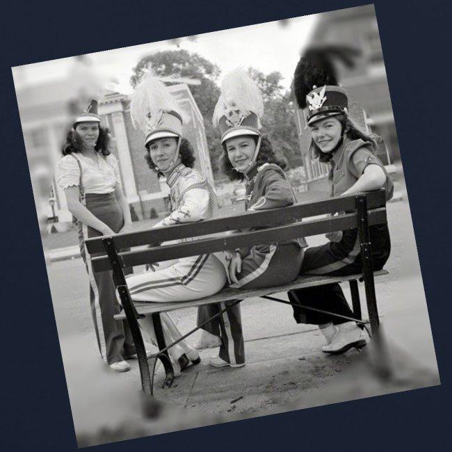 Retro Drummer Girls