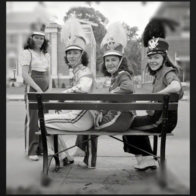 Retro Drummer Girls