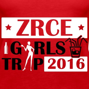ZRCE GIRLS TRIP 2016 Tops - Women's Premium Tank Top