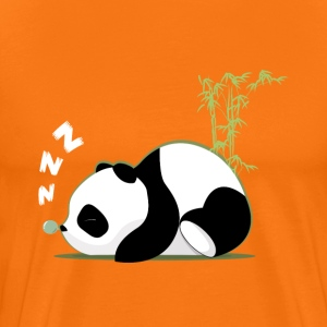 Sleeping panda - Men's Premium T-Shirt