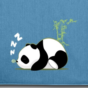 Sleeping panda - Shoulder Bag made from recycled material