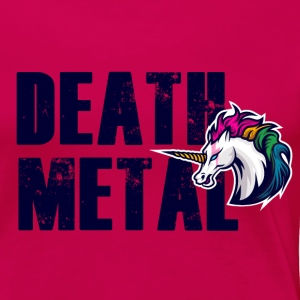 Death metal unicorn - Women's Premium T-Shirt
