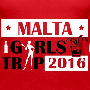 MALTA GIRLS TRIP 2016 Tops - Women's Premium Tank Top