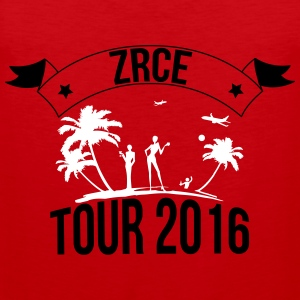 ZRCE tour 2016 Ropa deportiva - Tank top premium hombre