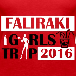 FALIRAKI GIRLS TRIP 2016 Tops - Women's Premium Tank Top