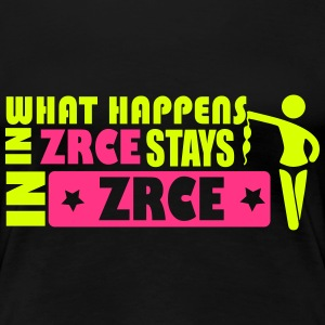 WHAT HAPPENS IN ZRCE STAYS IN ZRCE T-shirts - Vrouwen Premium T-shirt