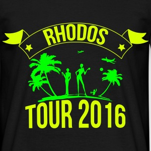 RHODOS tour 2016 T-Shirts - Men's T-Shirt