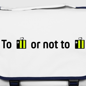 to be or not to be (hamlet with bees) - Shoulder Bag