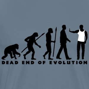 evolution_of_man_security03_2c T-Shirts - Männer Premium T-Shirt