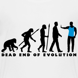 evolution_of_man_security03_2c T-Shirts - Teenager Premium T-Shirt