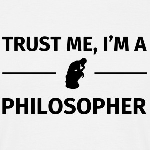 Trust me I'm a Philosopher T-shirts - Herre-T-shirt
