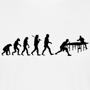 Evolution of Tischtennis - Männer T-Shirt