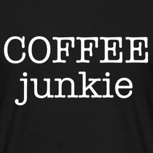 coffee junkie - Men's T-Shirt