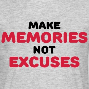 Make memories, not mistakes T-skjorter - T-skjorte for menn