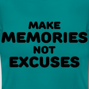 Make memories, not mistakes T-shirts - Dame-T-shirt