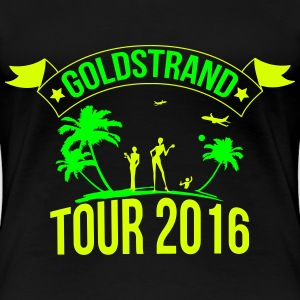 Golden Sands tour 2016 T-Shirts - Women's Premium T-Shirt
