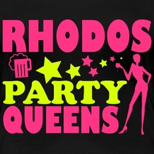 RHODES PARTY QUEENS T-Shirts - Women's Premium T-Shirt