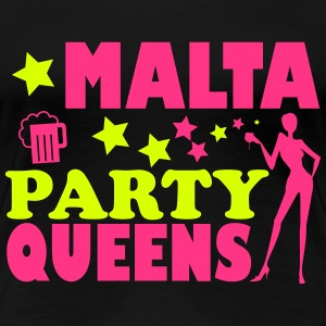 MALTA PARTY QUEENS T-shirts - Vrouwen Premium T-shirt