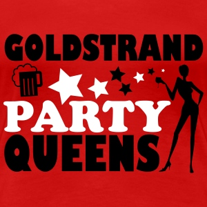 SABLES D'OR QUEENS PARTY Tee shirts - T-shirt Premium Femme