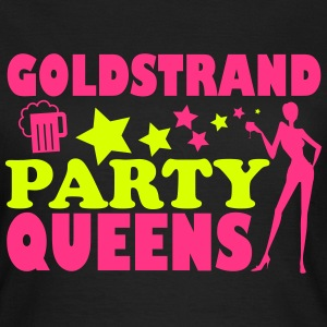 GOLDEN SANDS PARTIJ QUEENS T-shirts - Vrouwen T-shirt