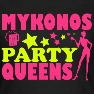MYKONOS PARTY QUEENS T-shirts - Vrouwen T-shirt