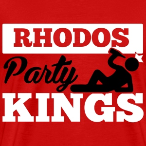 RHODOS PARTY KINGS T-shirts - Mannen Premium T-shirt